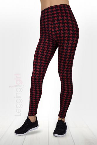 Ruby Houndstooth